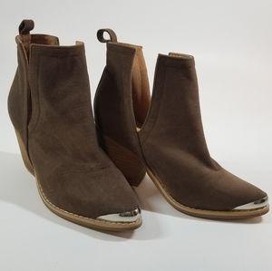 🕶️ Tan/Brown Booties size